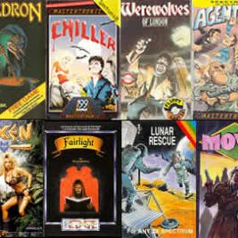 zx spectrum game cover art