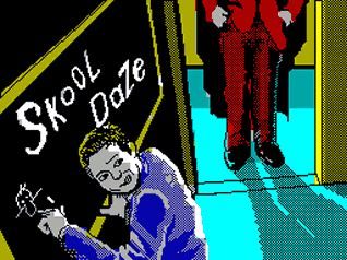 Skool Daze Title Screen